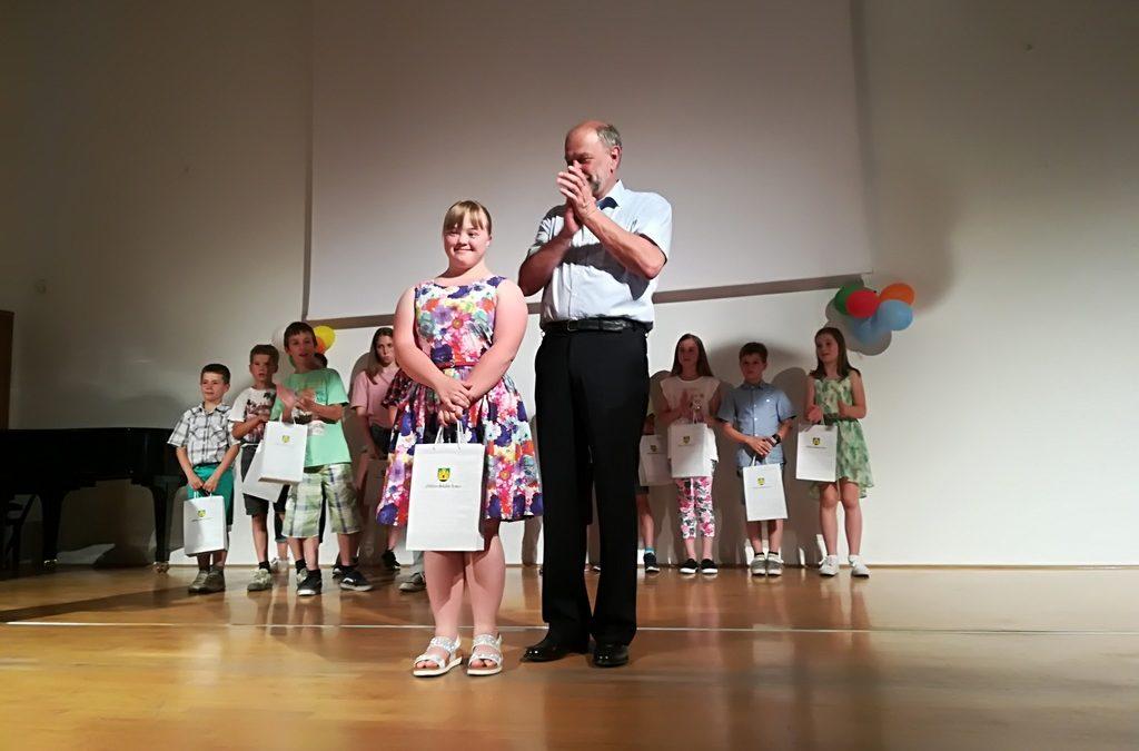 Občinska priznanja najboljšim učencem