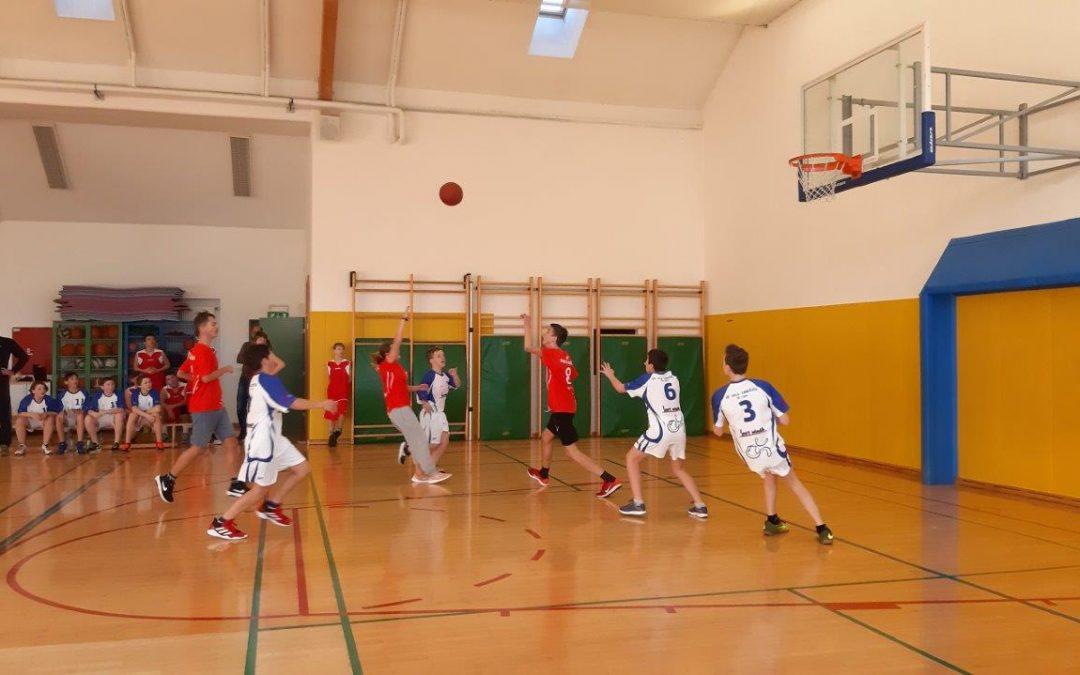 Področno prvenstvo v košarki v Radovljici